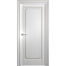 Межкомнатная дверь Мебель-Массив Палермо 7 Эмаль RAL 9010 коричневая патина полотно глухое