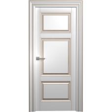 Межкомнатная дверь Мебель-Массив Палермо 8 Эмаль RAL 9010 коричневая патина полотно глухое