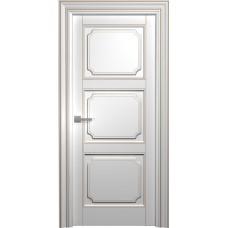 Межкомнатная дверь Мебель-Массив Палермо 9 Эмаль RAL 9010 коричневая патина полотно глухое
