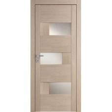 Межкомнатная дверь Мебель-Массив Призма Пепельный дуб полотно с остеклением (стекло матовое)
