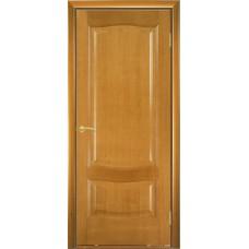 Межкомнатная дверь Мебель-Массив Севилья Африканский орех без патины полотно глухое