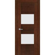 Межкомнатная дверь Мебель-Массив Толедо Коньячный дуб полотно с остеклением (стекло матовое)
