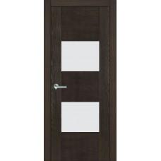Межкомнатная дверь Мебель-Массив Толедо Пепельный дуб полотно с остеклением (стекло матовое)