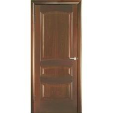 Межкомнатная дверь Мебель-Массив Валенсия Красное дерево без патины полотно глухое