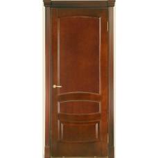 Межкомнатная дверь Мебель-Массив Валенсия Миланский орех без патины полотно глухое