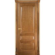 Межкомнатная дверь Мебель-Массив Валенсия Светлый дуб без патины полотно глухое