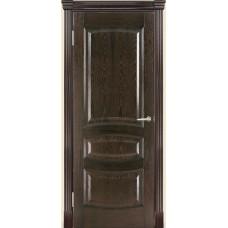 Межкомнатная дверь Мебель-Массив Валенсия Темный дуб без патины полотно глухое