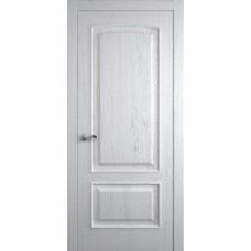 Межкомнатная дверь Мебель-Массив Венеция Эмаль белая на дубе без патины полотно глухое