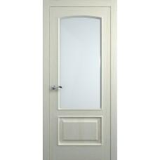 Межкомнатная дверь Мебель-Массив Венеция Эмаль RAL 1013 без патины полотно с остеклением