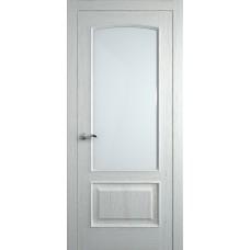 Межкомнатная дверь Мебель-Массив Венеция Эмаль RAL 9010 без патины полотно с остеклением