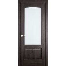 Межкомнатная дверь Мебель-Массив Венеция Пепельный дуб без патины полотно с остеклением витраж