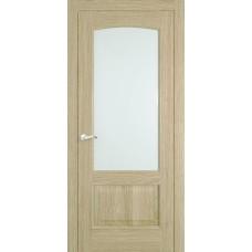 Межкомнатная дверь Мебель-Массив Венеция Шампань дуб без патины полотно с остеклением