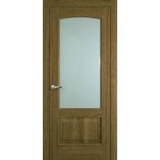 Межкомнатная дверь Мебель-Массив Венеция Светлый дуб без патины полотно с остеклением