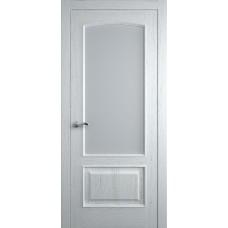 Межкомнатная дверь Мебель-Массив Венеция Эмаль белая на дубе без патины полотно с остеклением