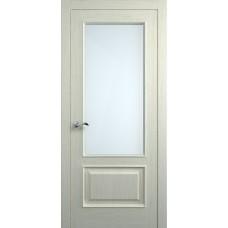 Межкомнатная дверь Мебель-Массив Верона Эмаль RAL 1013 без патины полотно с остеклением