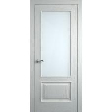 Межкомнатная дверь Мебель-Массив Верона Эмаль RAL 9010 без патины полотно с остеклением