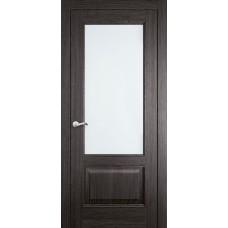 Межкомнатная дверь Мебель-Массив Верона Пепельный дуб без патины полотно с остеклением