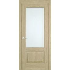 Межкомнатная дверь Мебель-Массив Верона Шампань дуб без патины полотно с остеклением