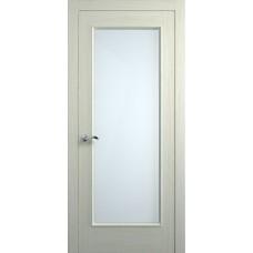 Межкомнатная дверь Мебель-Массив Виченца Эмаль RAL 1013 без патины полотно с остеклением