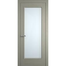 Межкомнатная дверь Мебель-Массив Виченца Эмаль RAL 7044 без патины полотно с остеклением