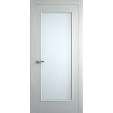 Межкомнатная дверь Мебель-Массив Виченца Эмаль RAL 9010 без патины полотно с остеклением
