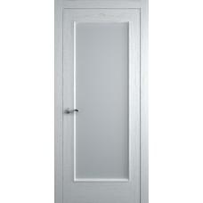 Межкомнатная дверь Мебель-Массив Виченца Эмаль белая без патины полотно с остеклением