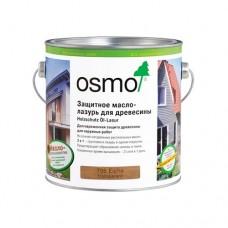 Защитное масло-лазурь OSMO 704 для древесины HolzSchutz Ol-Lasur для фасадов 0,125 л