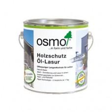 Защитное масло-лазурь OSMO 1140 для древесины с эффектом серебра HolzSchutz Ol-Lasur Effect 0,125 л