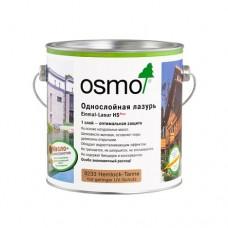 Однослойная лазурь OSMO 9211 Einmal-Lasur HS Plus для внутренних и наружных работ 0,125 л