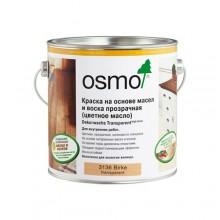 Цветные масла OSMO 3101 ПРОЗРАЧНЫЕ Dekorwachs Transparente TONE 0,75л