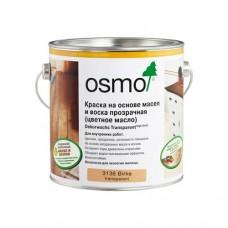 Цветные масла OSMO 3101 ПРОЗРАЧНЫЕ Dekorwachs Transparente TONE 0,125 л