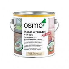 Масло OSMO Hartwachs-Ol 3011 с твердым воском Original Бесцветное глянцевое 0,125 л