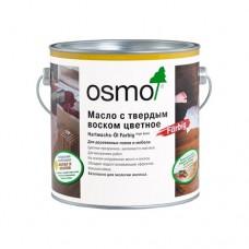 Масло OSMO 3040 с твердым воском ЦВЕТНОE Hartwachs-Ol Farbig 0,125 л