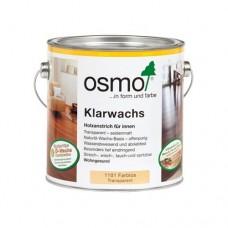 Масло OSMO 1101 с воском для твердых пород Klarwachs Бесцветное шелковисто-матовое 0,125 л