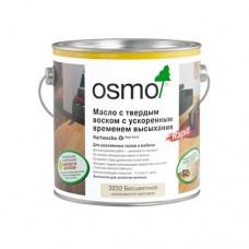 Масло OSMO Polix Hartwachs-Ol Rapid 3232 с твердым воском Rapid с ускоренным временем высыхания Бесцветное шелковисто-матовое 0,125 л
