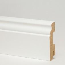 Плинтус MDF 5910 МДФ White белый 70 x 18