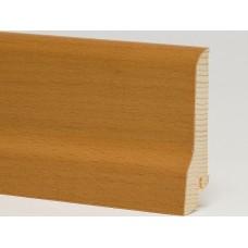 Плинтус шпонированный Pedross Бук коричневый 80 x 20 мм