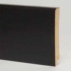 Плинтус шпонированный Pedross Черный матовый 95 x 15 мм
