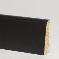 Плинтус шпонированный Pedross Черный 58 x 20 мм