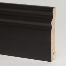 Плинтус шпонированный Pedross Черный матовый SEG 100 95 x 15 мм
