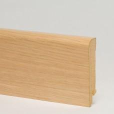 Плинтус шпонированный Pedross Дуб беленый 70 x 15 мм
