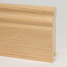 Плинтус шпонированный Pedross Дуб беленый SEG 100 95 x 15 мм