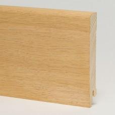 Плинтус шпонированный Pedross Дуб без покрытия 95 x 15 мм