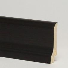 Плинтус шпонированный Pedross Дуб Черный 60 x 22 мм
