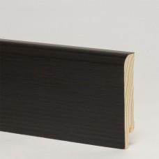 Плинтус шпонированный Pedross Дуб Черный 70 x 15 мм
