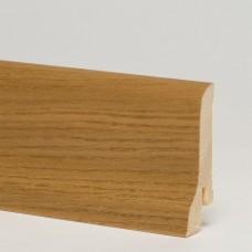 Плинтус шпонированный Pedross Дуб Дым 60 x 22 мм