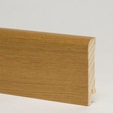 Плинтус шпонированный Pedross Дуб Дым 70 x 15 мм