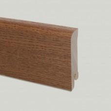 Плинтус шпонированный Pedross Дуб Карри 70 x 15 мм