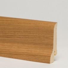 Плинтус шпонированный Pedross Дуб Коньяк 60 x 22 мм