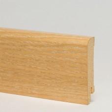 Плинтус шпонированный Pedross Дуб затертый 70 x 15 мм